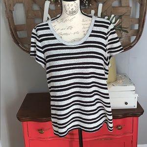 Liz Claiborne weekend top size XL